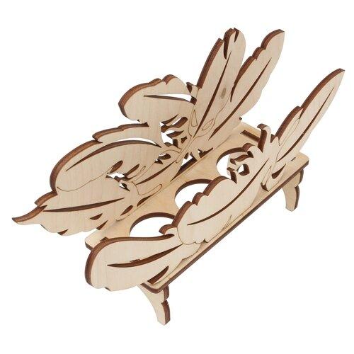 Купить Astra & Craft Деревянная заготовка для декорирования Подставка под яйца. Перышко L-1052 береза, Декоративные элементы и материалы