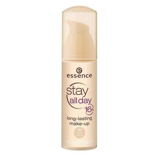 Essence Тональный крем Stay All Day, 30 мл, оттенок: 30 Soft Sand