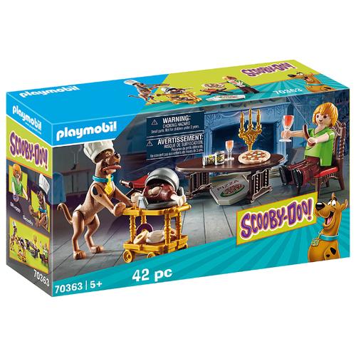 Купить Набор с элементами конструктора Playmobil SCOOBY-DOO! 70363 Ужин с Шегги, Конструкторы