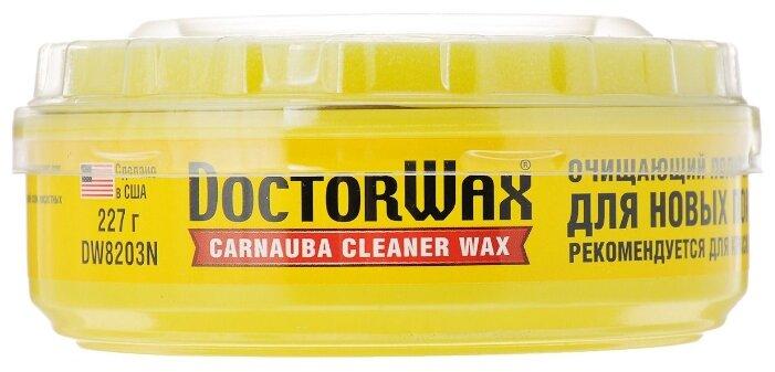 Воск для автомобиля Doctor Wax очищающий полироль-защита с воском карнауба