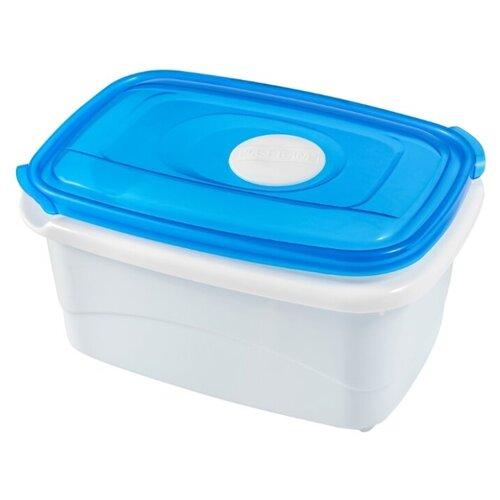 Plast Team Контейнер Micro Top 0.6 л голубой контейнер пищевой plast team polar цвет лайм 6 л