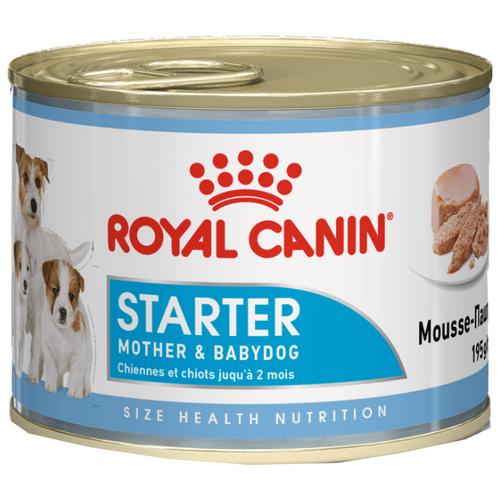Корм для собак Royal Canin (0.195 кг) 1 шт. Starter Mousse сanine cannedКорма для собак<br>