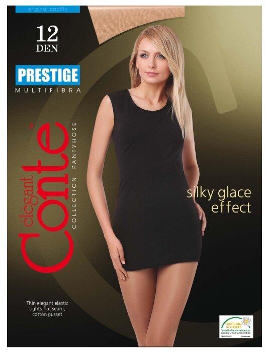 Купить Колготки Conte Elegant Prestige 12 den, размер 4, beige (бежевый) по низкой цене с доставкой из Яндекс.Маркета