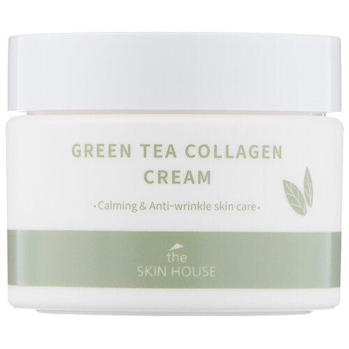 The Skin House Green Tea Collagen Cream Крем для лица, 50 мл крем с лавандой 50 мл the skin house