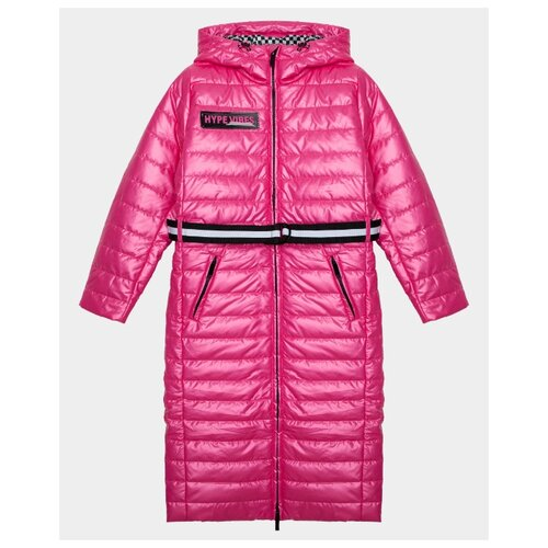 Купить Пальто Gulliver 22009GJC4510 размер 146, розовый, Пальто и плащи