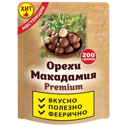 Макадамия ИП Ненашев Дмитрий Викторович в скорлупе пластиковый пакет 200 г