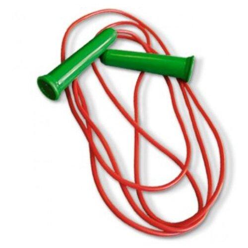 Фото - Скакалка Stellar 01312, 220 см, красный/зеленый спортивный инвентарь нордпласт скакалка 220 см