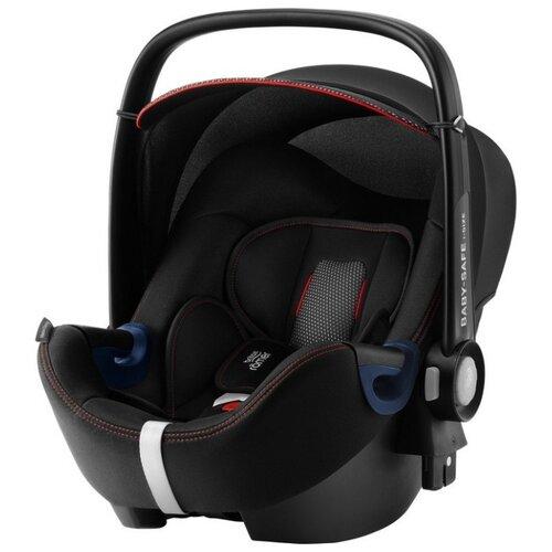 Автокресло-переноска группа 0+ (до 13 кг) BRITAX ROMER Baby-Safe2 i-Size, cool flow black