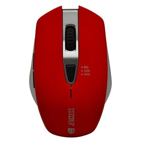 Беспроводная мышь Jet.A Comfort OM-U60G красный мышь беспроводная jet a comfort om u36g чёрный usb