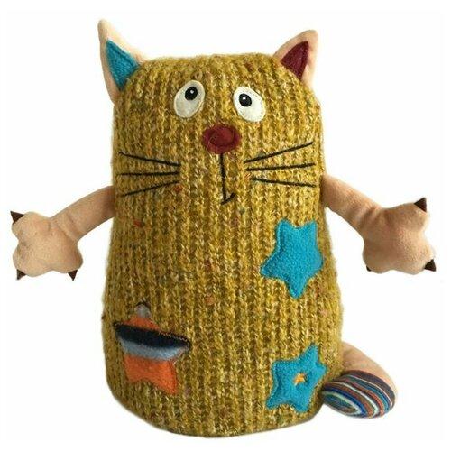 Мягкая игрушка Gulliver Кот Котейка желтый 15 см мягкая игрушка gulliver кот ботаник 23 см