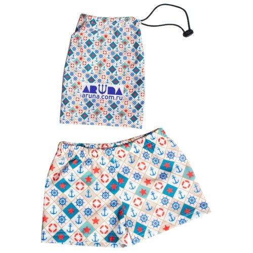 Купить Плавки Aruna размер 122-134, якоря, Белье и пляжная мода
