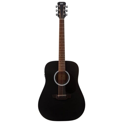 Электроакустическая гитара JET JDE-255 BKS