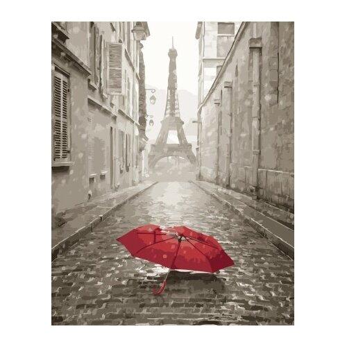 Купить ВанГогВоМне Картина по номерам Зонт в Париже , 40х50 см (ZX 22158), Картины по номерам и контурам