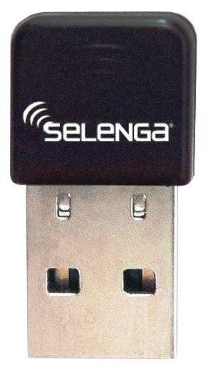 Wi-Fi адаптер Selenga Wi-Fi USB (без антенны)