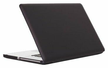 Чехол-накладка Speck SeeThru Satin for MacBook Pro 17 (aluminum, black keys)