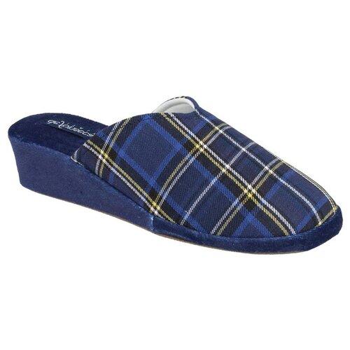 Тапочки PALERMO W411 De Fonseca синий 38 (De Fonseca)Домашняя обувь<br>