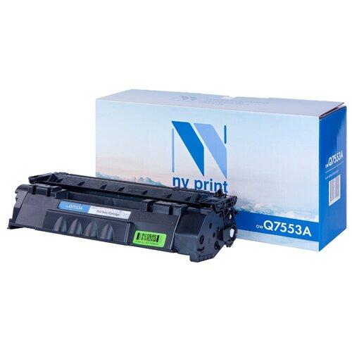 Фото - Картридж NV Print Q7553A для HP, совместимый картридж nv print q7581a для hp