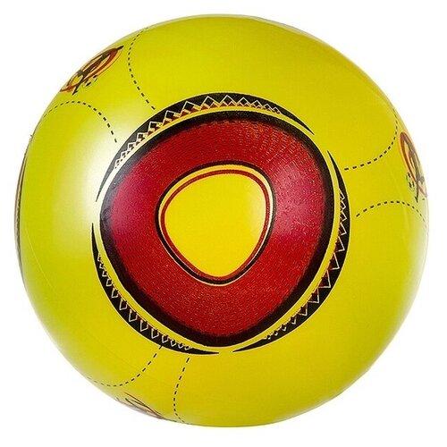 Мяч Гратвест World cup (Т76599), 22 см, желтый мяч гратвест бегемот загорает c20408 22 см синий