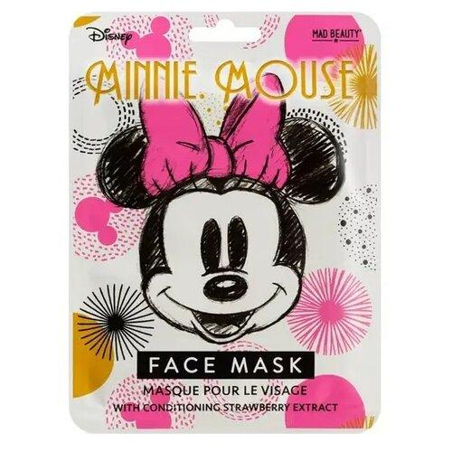Mad Beauty Disney Minnie Mouse Magic тканевая маска с экстрактом клубники, 25 мл по цене 479