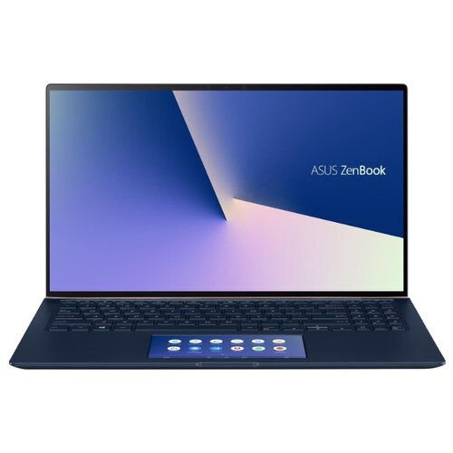 Ноутбук ASUS ZenBook 15 UX534FTC-A8311R (Intel Core i7 10510U 1800MHz/15.6/1920x1080/16GB/1024GB SSD/DVD нет/NVIDIA GeForce GTX 1650 MAX-Q 4GB/Wi-Fi/Bluetooth/Windows 10 Pro) 90NB0NK1-M07160 синий ноутбук