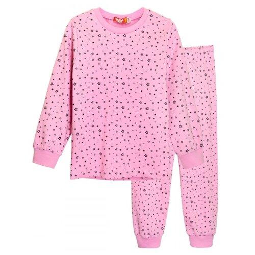 Купить Пижама Let's Go размер 122, розовый, Домашняя одежда
