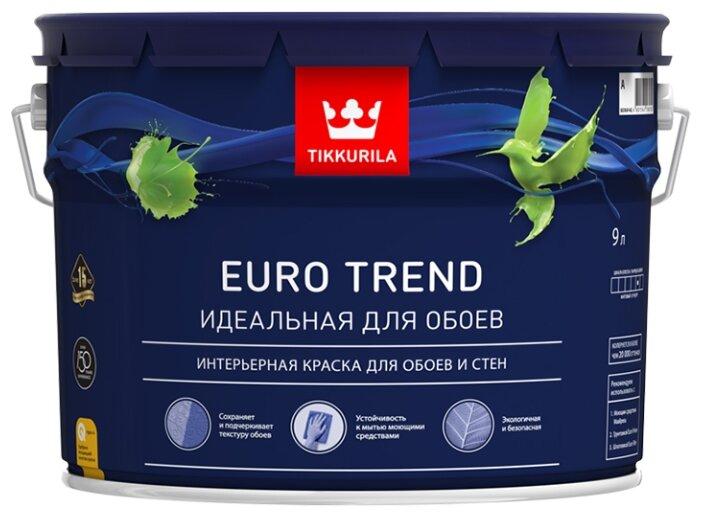 Краска Tikkurila Euro Trend матовая