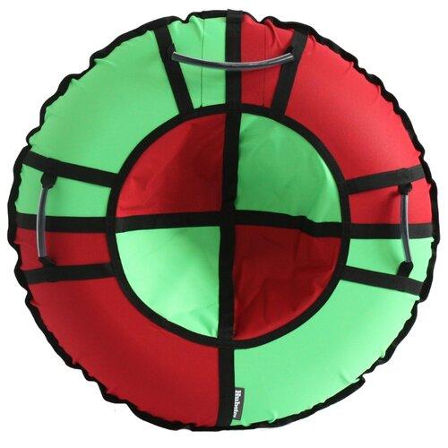 Тюбинг Hubster Хайп 90 см красный/салатовый тюбинг hubster хайп 120 см салатовый бирюзовый