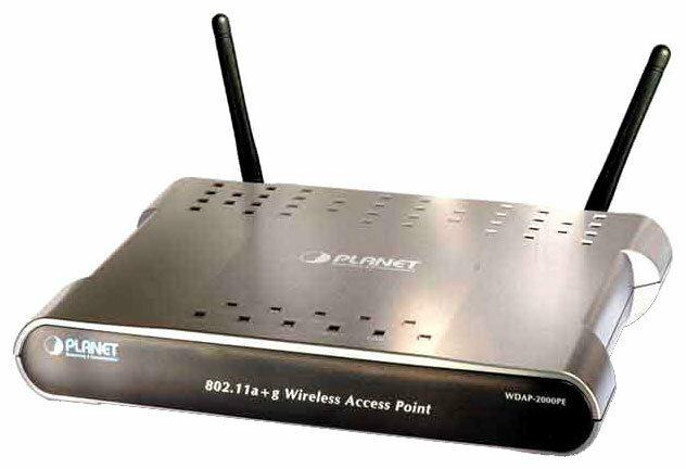 Wi-Fi роутер Planet WDAP-2000PE