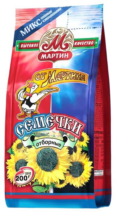Семена подсолнечника От Мартина отборные микс соленых с несолеными 200 г