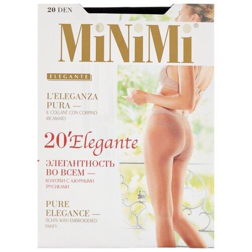 Фото - Колготки MiNiMi Elegante, 20 den, размер 3-M, nero (черный) колготки minimi elegante 40 den размер 2 s m nero черный