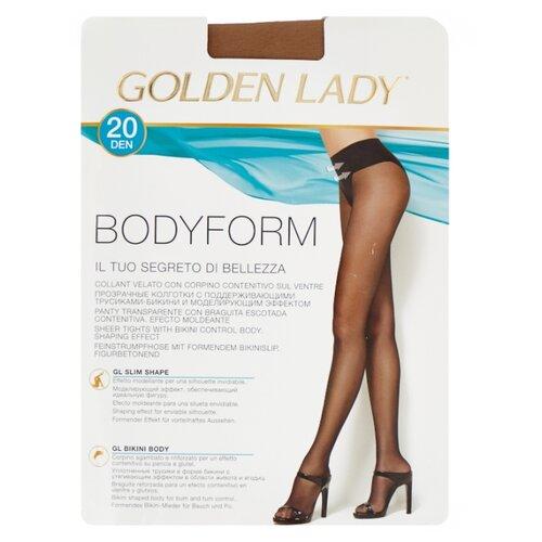 Колготки Golden Lady Bodyform 20 den, размер 3-M, melon (бежевый) колготки golden lady mara 20 den размер 6 xxl melon бежевый