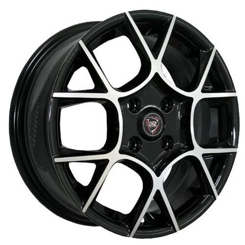 Фото - Колесный диск NZ Wheels F-26 6x14/4x98 D58.6 ET35 BKF колесный диск nz wheels sh665 5 5x14 4x98 d58 6 et35 bkf