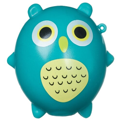 Игрушка-мялка BONDIBON Сова (ВВ4294) голубой