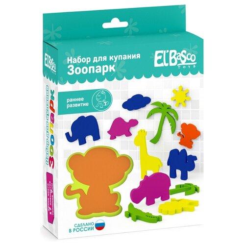 Купить Набор для ванной El'BascoToys Зоопарк (02-001) разноцветный, Игрушки для ванной