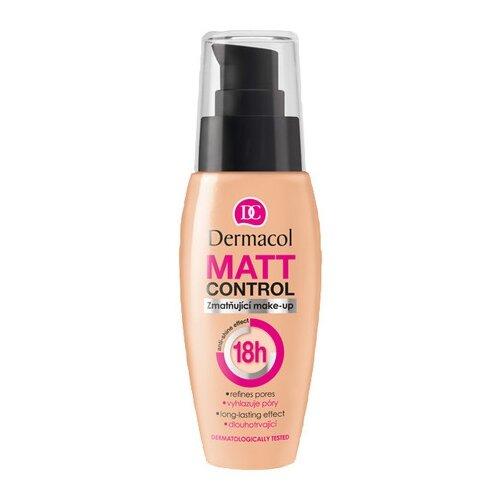 Dermacol Тональный крем Matt Control Make-Up, 30 мл, оттенок: тон № 0.5 тональный крем ingrid mineral matt тон 304 песочный