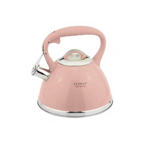 Zeidan Чайник со свистком Z-4253 3 л, розовый