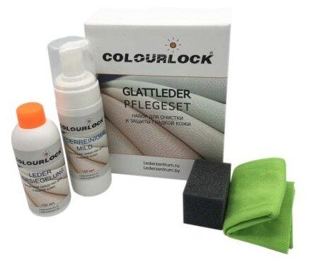 Colourlock Набор для кожаной обивки салона автомобиля Glattleder Pflegeset