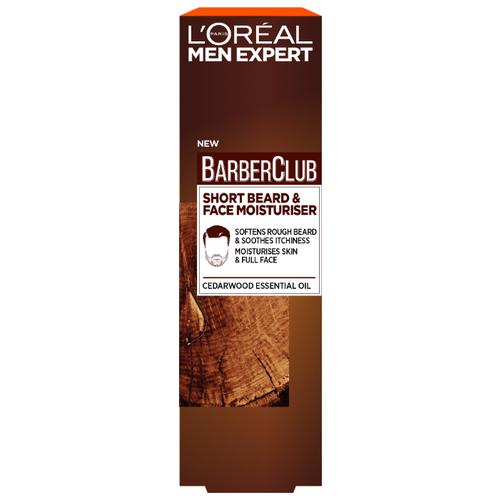L\'Oreal Paris Крем-гель для короткой бороды Barber Club с маслом кедрового дерева, 50 мл
