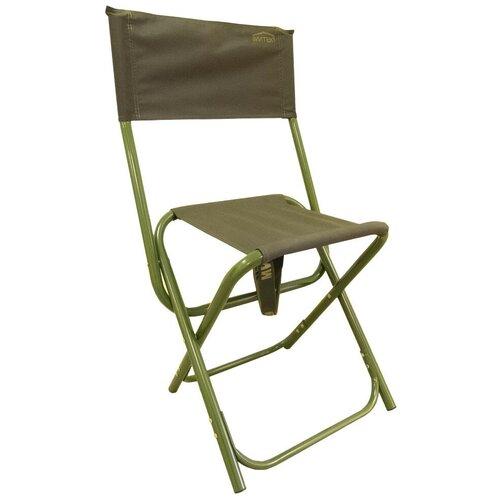 Стул Митек складной большой со спинкой Комфорт хаки стул митек складной средний со спинкой