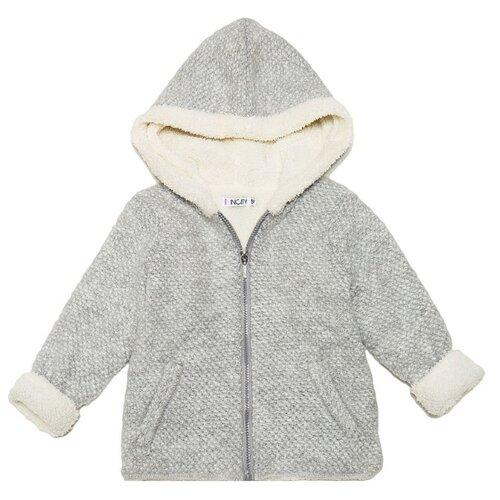 Купить Куртка INCITY размер 134, серый, Куртки и пуховики