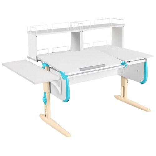 Стол ДЭМИ СУТ-25-02Д2 145x82 см белый/ниагара/бежевый стол дэми сут 25 02д2 145x82 см белый зеленый бежевый