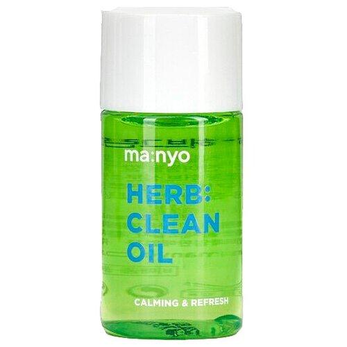 Manyo Factory очищающее гидрофильное масло с экстрактами трав Herb Green Cleansing Oil, 25 мл недорого