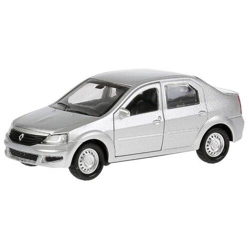 Купить Легковой автомобиль ТЕХНОПАРК Renault Logan 12 см серебристый, Машинки и техника
