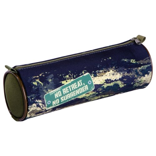 Купить Berlingo Пенал-тубус Military (PM04748) синий, Пеналы