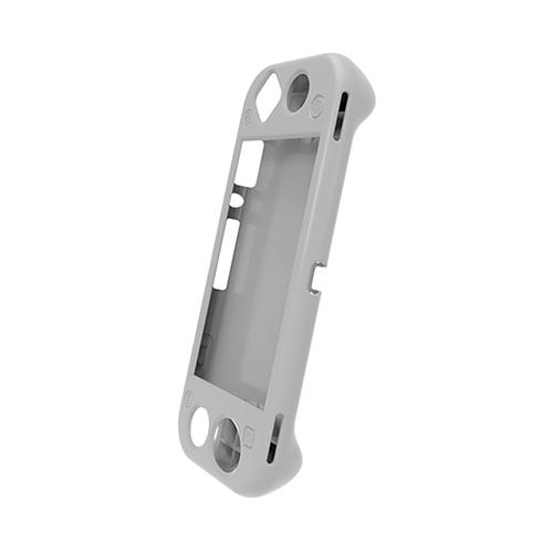 Dobe Защитный силиконовый чехол для консоли Nintendo Switch Lite (TNS-19099) светло-серый