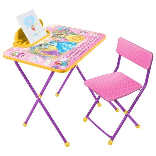 Комплект Nika Принцесса (Д2П) 60x45 см розовый/фиолетовый