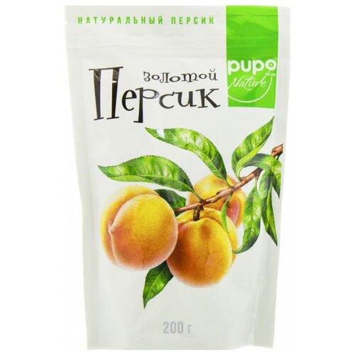 Персик сушеный PUPO Золотой без косточки, 200 г