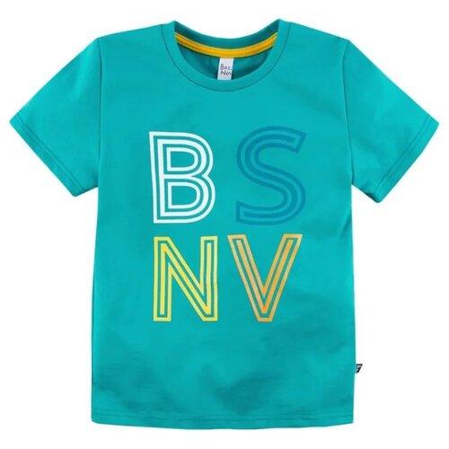 Купить Футболка Bossa Nova размер 116, бирюзовый, Футболки и майки
