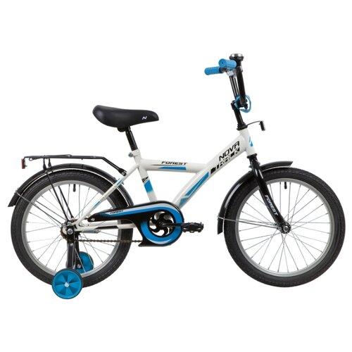 Детский велосипед Novatrack Forest 18 (2020) белый (требует финальной сборки)