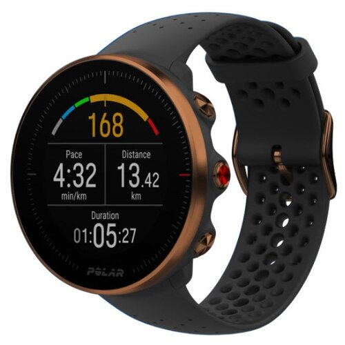 Фото - Умные часы Polar Vantage M, черный/медный, M/L polar h7 hr sensor pnk st m xxl